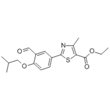Ethyl 2-(3-formyl-4-isobutoxyphenyl)-4-methylthiazole-5-carboxylate CAS 161798-03-4