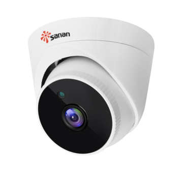 Indoor 5 megapixel network camera high resolution
