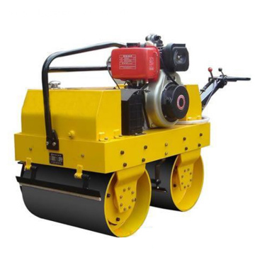 Small Walk Behind Single Wheel Road Roller Compactor