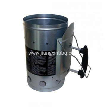 Galvanized Steel Grillstarter Chimney