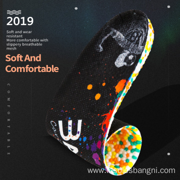 New Design E-TPU Soft Sport Shoe Insole Pad