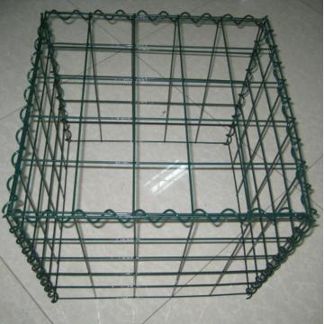 Green Powder Spray Welded Gabion
