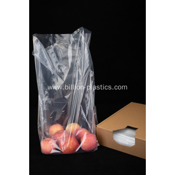 Supermarket Packaging LDPE Plastic Flat Bag
