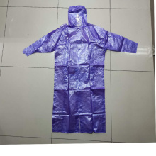 Blue Rain Coat For student