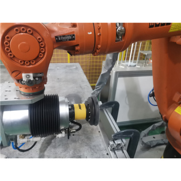 Integrated stove grinding sanding force control system