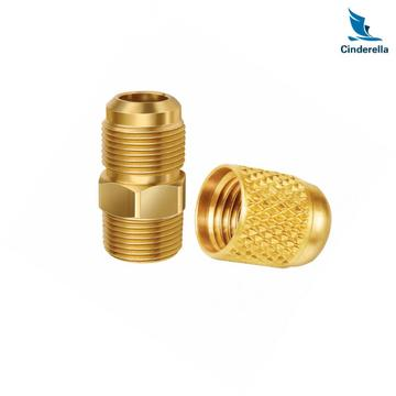 Cinderella Fabrication Services CNC Brass Parts
