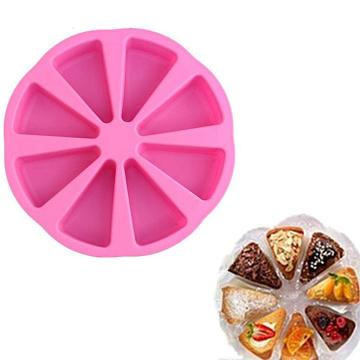 Silicone Portion Cake Pizza Slices Pan cake mold