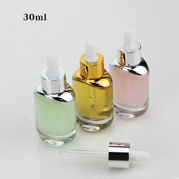 30ml luxurious glass dropper bottles