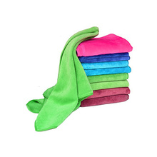 quick dry polyester microfiber plush car towels