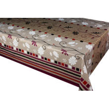 Pvc Printed fitted table covers Table Runner 8ft