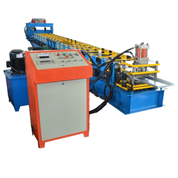Color advertising board adjustable roll forming machine