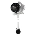 Pendulum Gear Wall Clock for Home Decoration