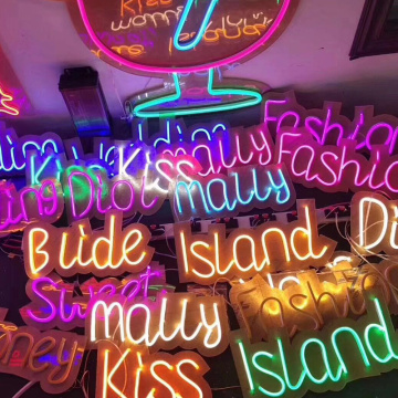 NEON LIGHTING CRAFTS IN HOME