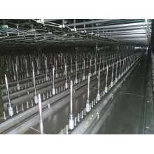 Automatic powder painting coating line