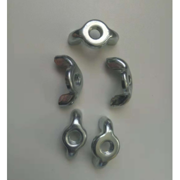 Zinc plating carbon steel Wing nuts