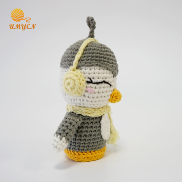 Crochet Amigurumi Dolls Home Decoration Penguin Toys
