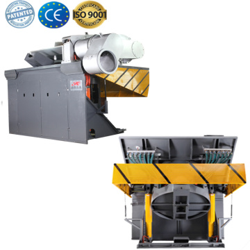 Cast iron melting scrap metal induction furnace
