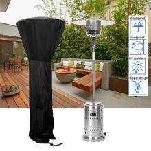 Waterproof Patio Heater Cover Black, Heavy Duty Garden Heater Rain Sun Protector