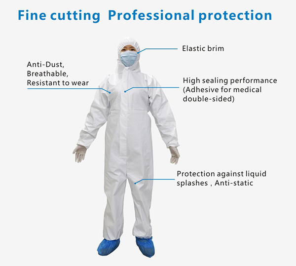 Disposable Isolation Gown Coverall