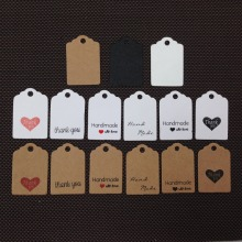 jewlery hang tag labels treated paper hang tags custom brand logo hang tag