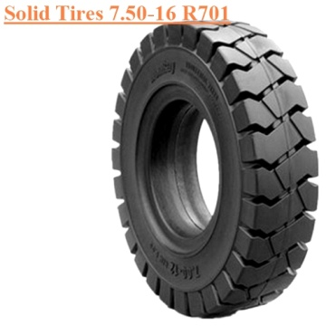 Steel Ring Forklift Solid Tire 7.50-16 R701
