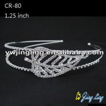 2015 leaf design hot sale  Wedding Tiara Crown