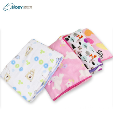 Eco-friendly ComFortable Animal Baby Jersey Blanket Swaddle