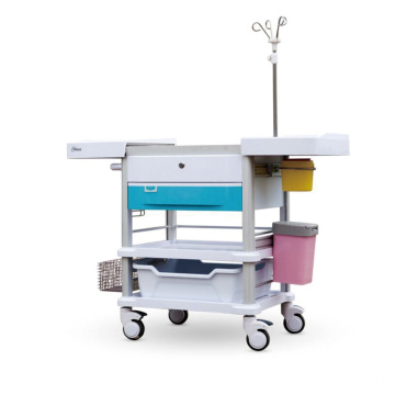 Color-optional Hospital ABS Treatment Trolley