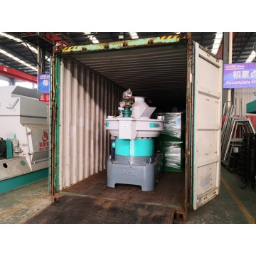 Automation wood pellet making machine
