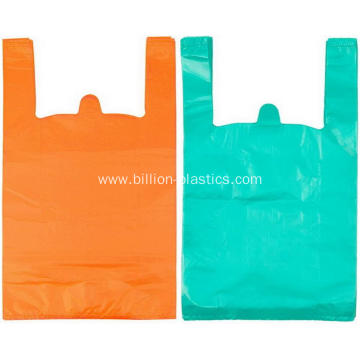 T-Shirt Plastic Grocery Store Retail Shopping Bags