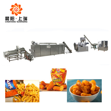 Kurkure production line 100kg kurkure machines price