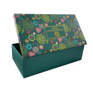 Custom Luxury Printing Flower Flat Pack Paper Box