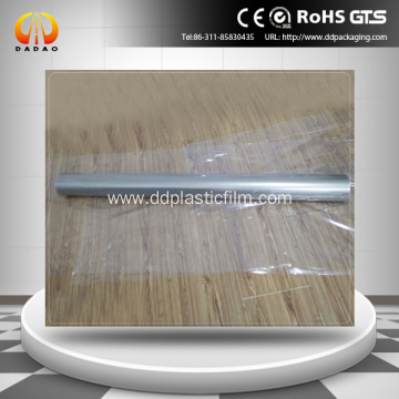 Self adhesive front and rear projection film