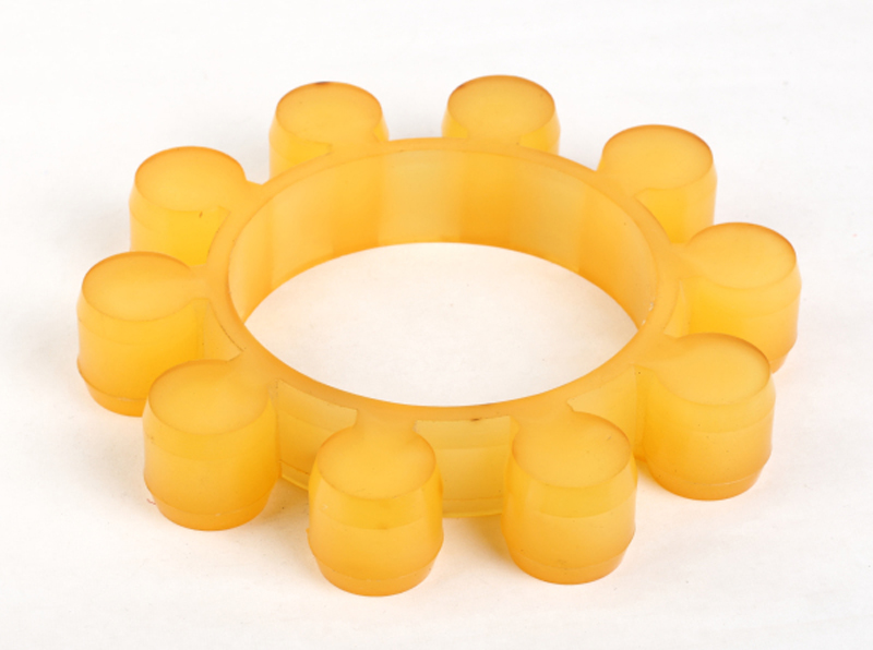 Urethane Mt Type Coupling Spiders Plum Flower Pad Mat