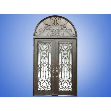 Wrought Iron Steel Entry Doors