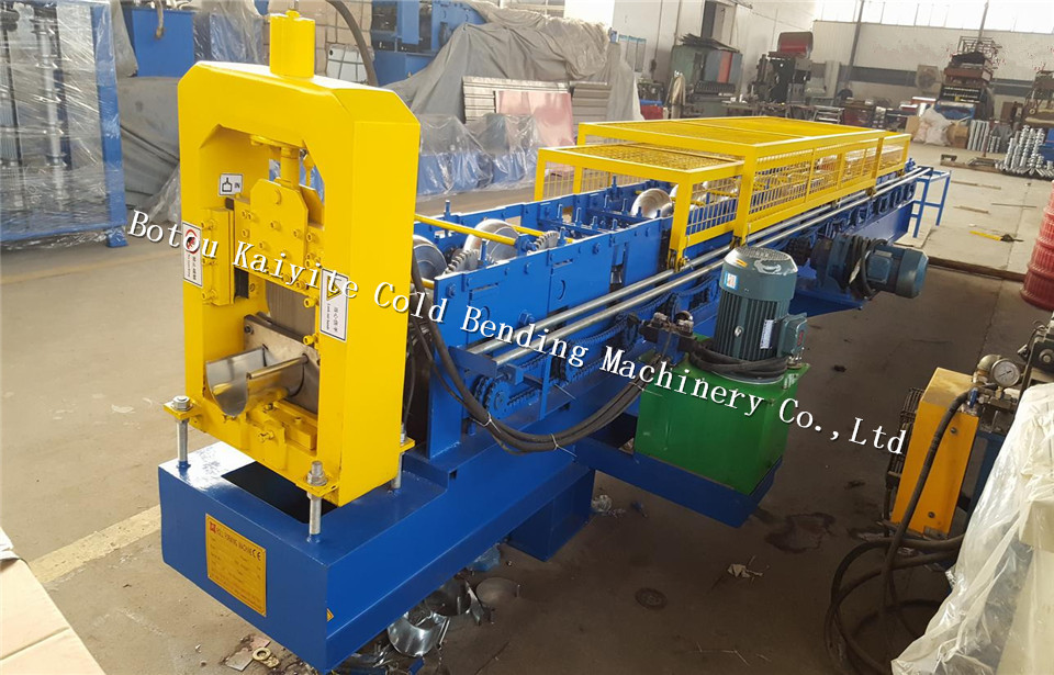 rain water gutter cold roll forming machine