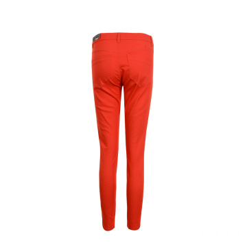 Custom Women's Cropped Woven Stretch Pants