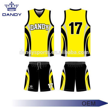 Mens sublimated basketball uniforms