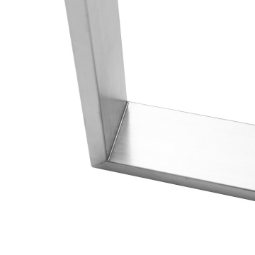 Stainless steel square metal table legs for sale
