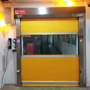 High-speed roll-up door