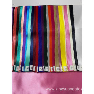 Custom Fashion Tick Satin fabric