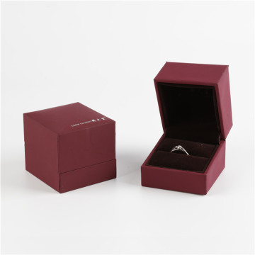 Flip Type Small Cardboard Jewelry Gift Box