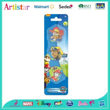 PAW PATROL blister card 3 pack erasers