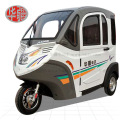 Totally Enclosed Three Wheel Electric Car