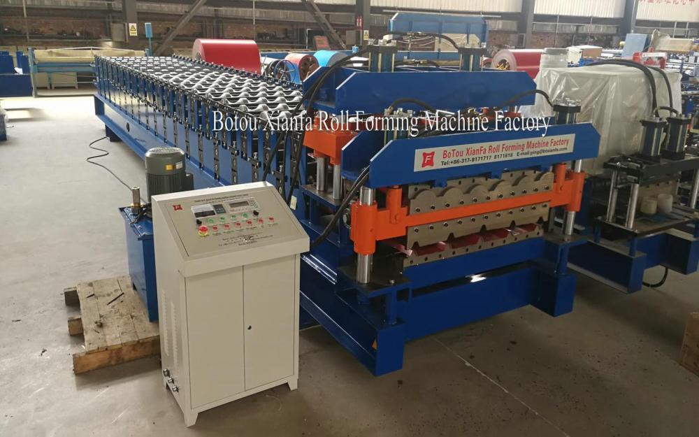 Iron Sheet Roofing Double Layer Forming Machine