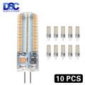 10pcs/lot G4 LED Bulb AC DC 12V 220V 1w 2w 3w 4w 5w Replace Halogen Lamp Light 360 degrees Spotlight Chandelier Lighting