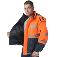 Men's work wear outer padding jacket
