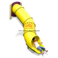 Outdoor Plastic Tube Slide For Amusement Park