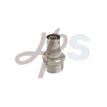 brass PEX male straight coupling