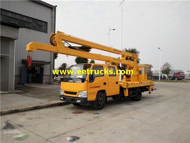 10m 200kg Truck with Aerial Platforms